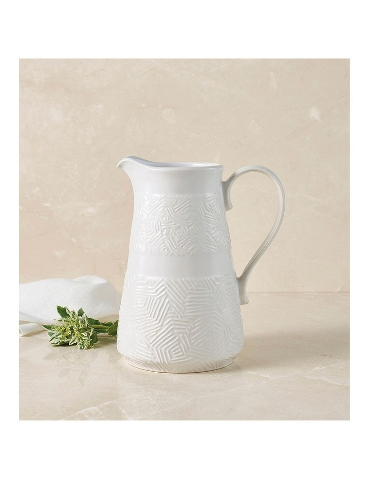 Dune Pitcher 2.5L White Gift Boxed image 2