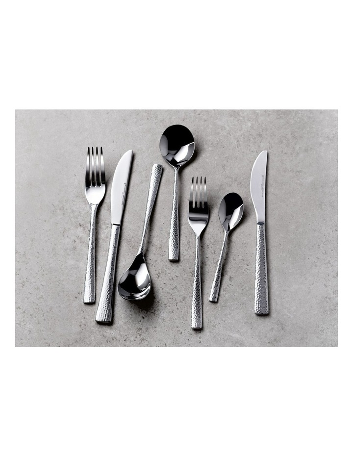 Wayland Hammered Cutlery Set 36pc Gift Boxed image 2