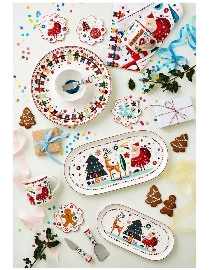 Festive Friends Cheese Knife Set of 3 Gift Boxed image 2