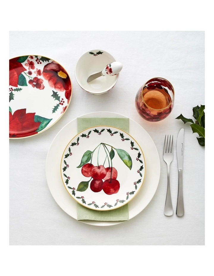 Poinsettia Spreader & Cheese Knife Set Gift Boxed image 2