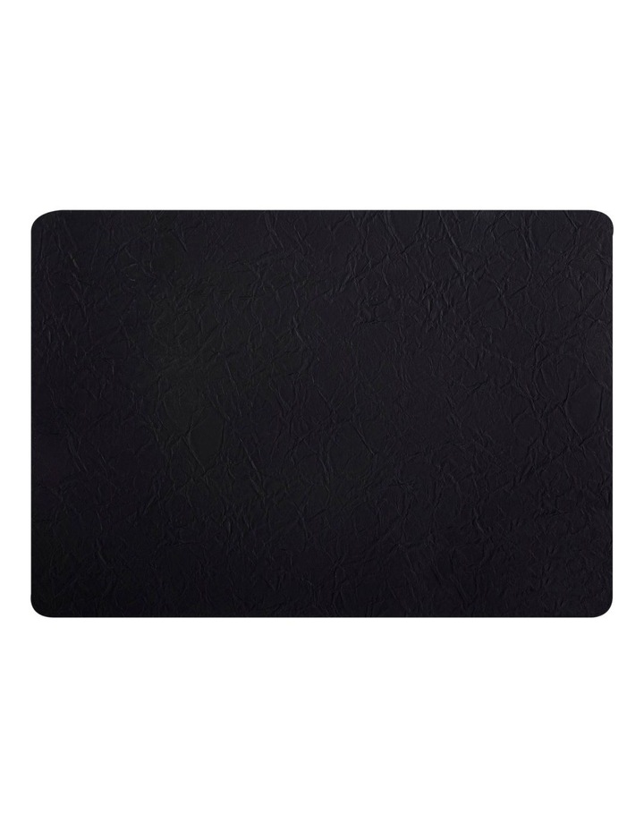 Placemat 43x30cm Leather look Black image 1