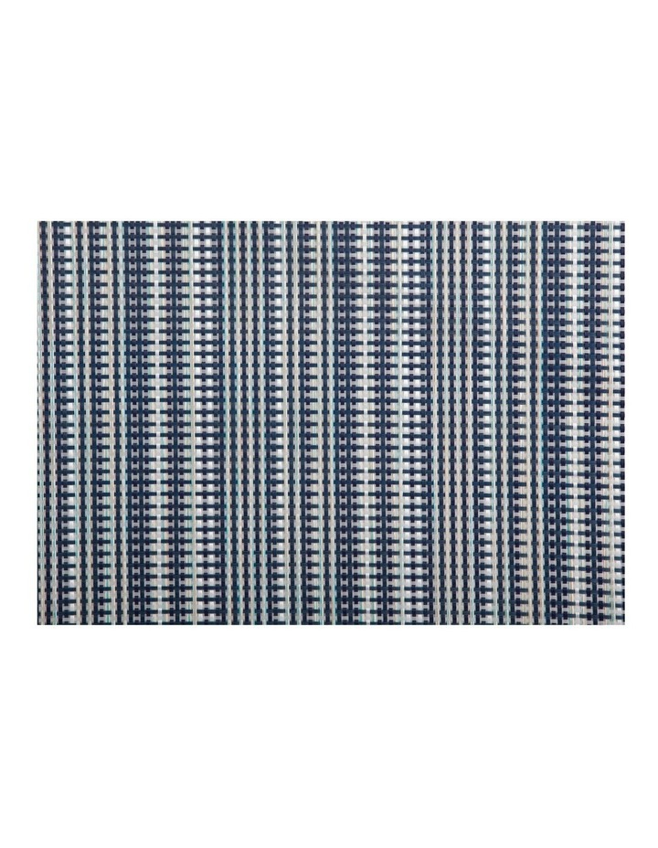 Placemat 45x30cm Woven Navy image 1