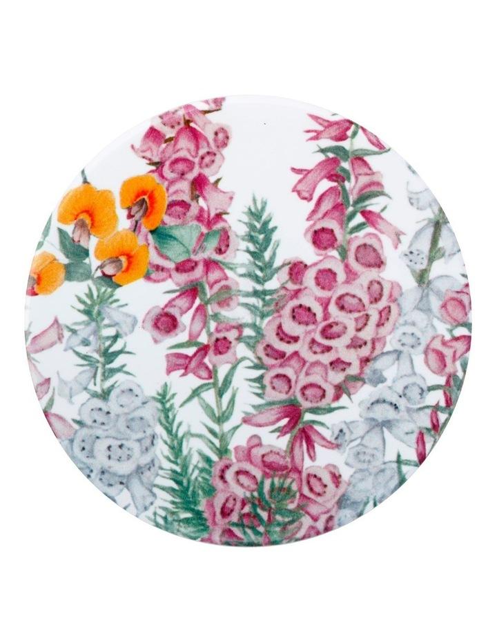 Royal Botanic Gardens Victoria Euphemia Henderson Ceramic Round Coaster 9.5cm Pink Heath image 1