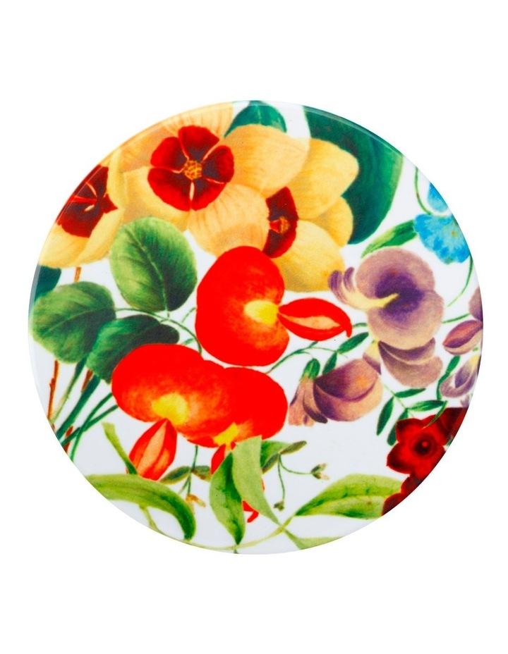Royal Botanic Gardens Victoria Euphemia Henderson Ceramic Round Coaster 9.5cm Sweet Pea image 1