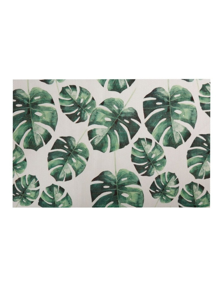 Table Accents Foliage Placemat 45x30cm Small Monstera image 1