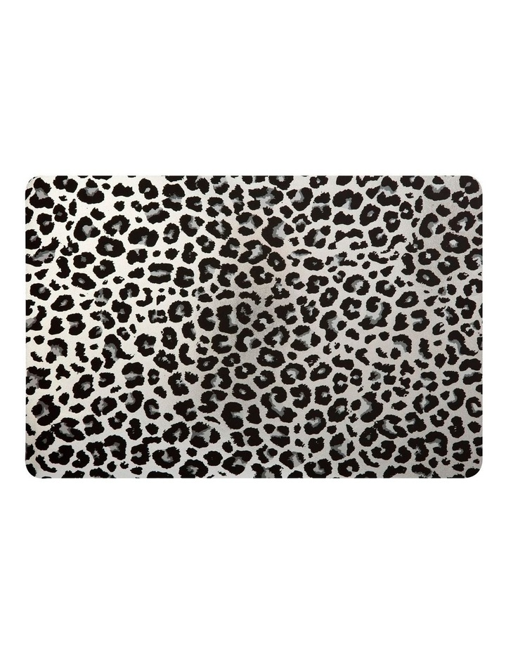 Table Accents Leopard Placemat 45x30cm Silver image 1