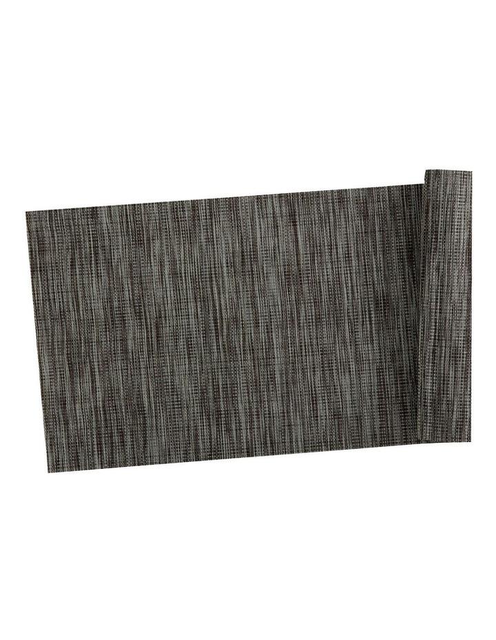 Table Accents Lurex Runner 30x150cm Grey Stripe image 1