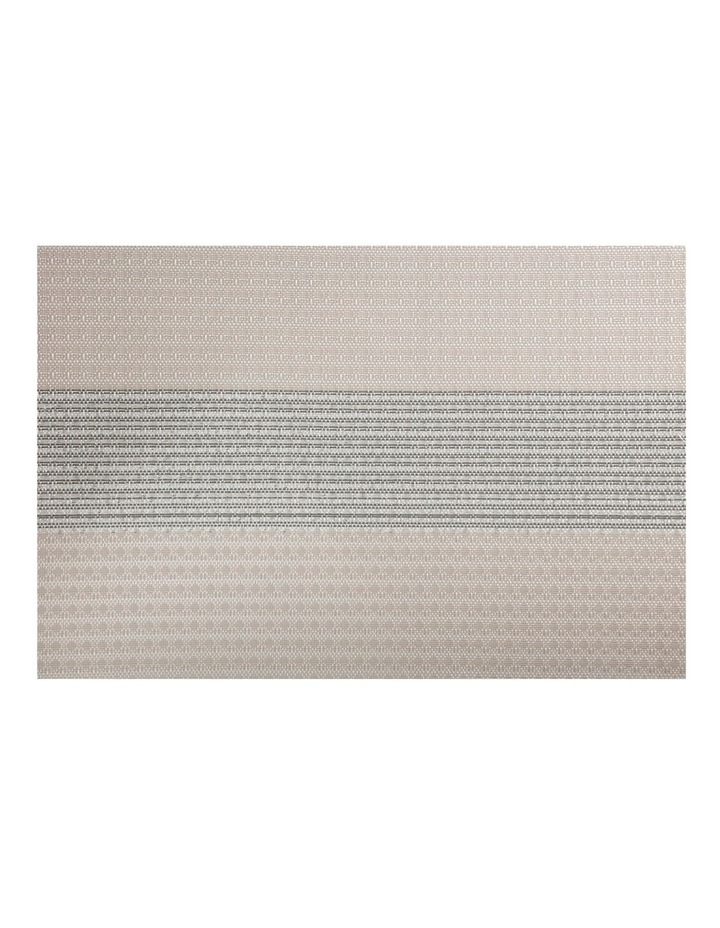 Table Accents Woven Lurex Placemat 45x30cm Cream image 1