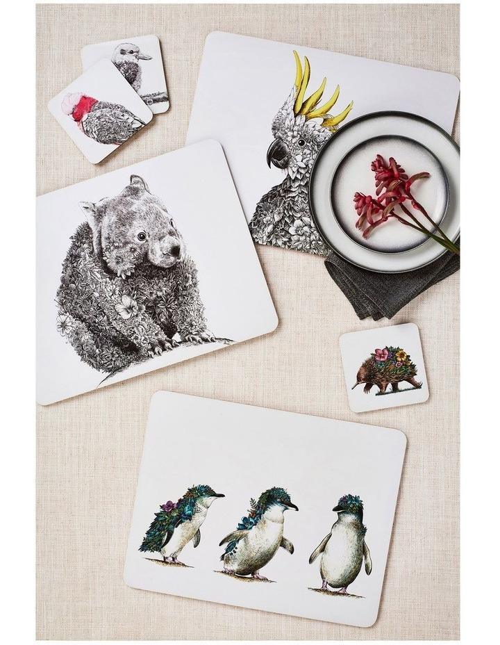 Marini Ferlazzo Australian Families Cork Back Placemat 34x26.5cm Set of 4 Gift Boxed image 2