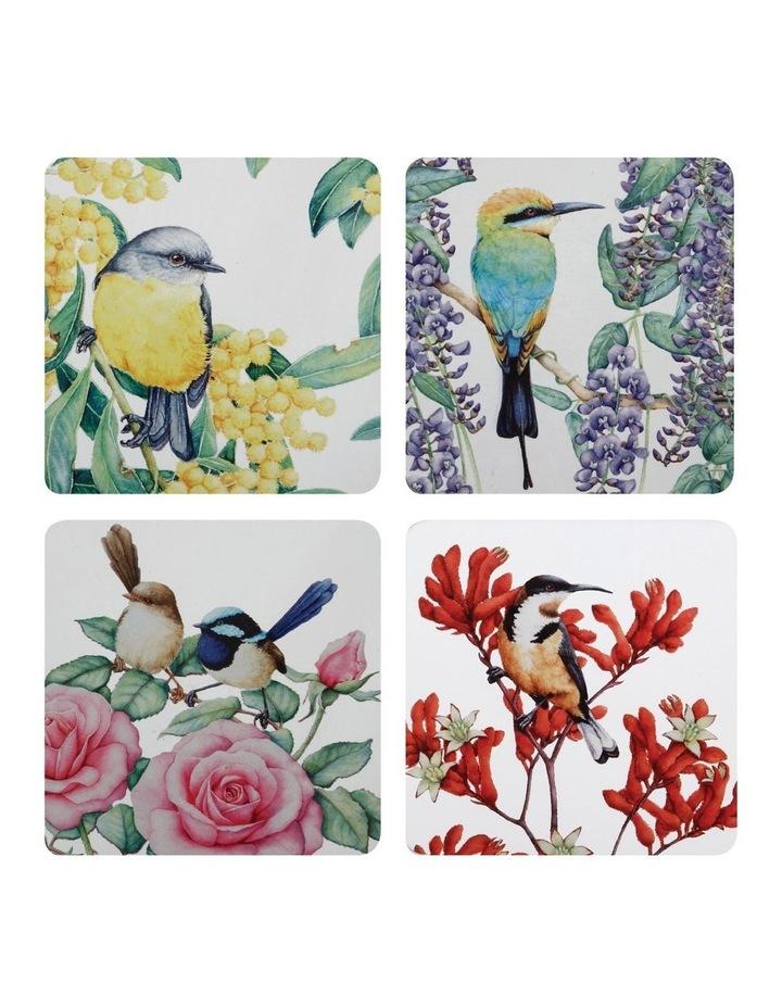 Royal Botanic Gardens - Garden Friends Cork Back Coaster 10.5cm Set of 4 Gift Boxed image 1