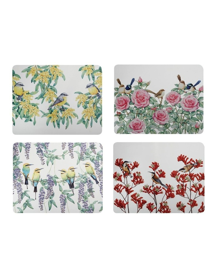 Royal Botanic Gardens - Garden Friends Cork Back Placemat 34x26.5cm Set of 4 Gift Boxed image 1