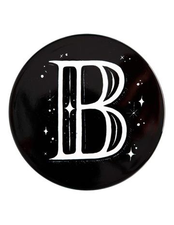 Black B colour