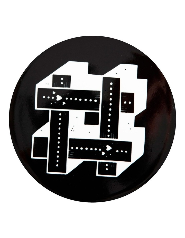 "The Letterettes Ceramic Round Coaster 10.5cm ""#"" Gift Boxed image 1"