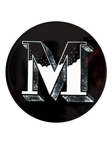 Black M colour