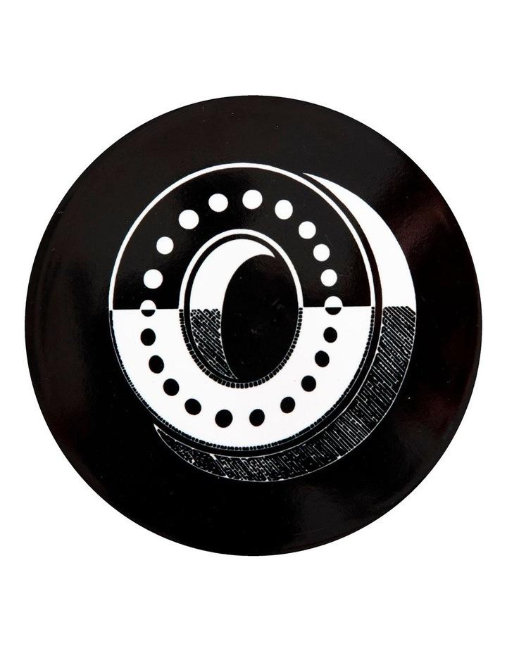 "The Letterettes Ceramic Round Coaster 10.5cm ""O"" Gift Boxed image 1"