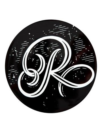 Black R colour
