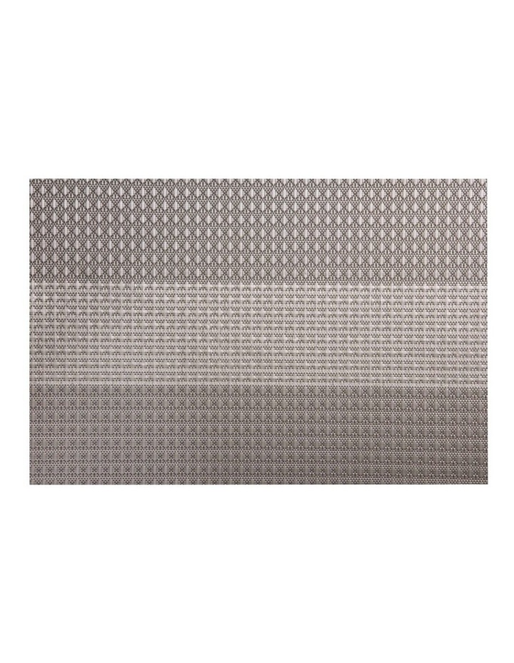 Table Accents Woven Lurex Placemat Taupe 45x30cm image 1