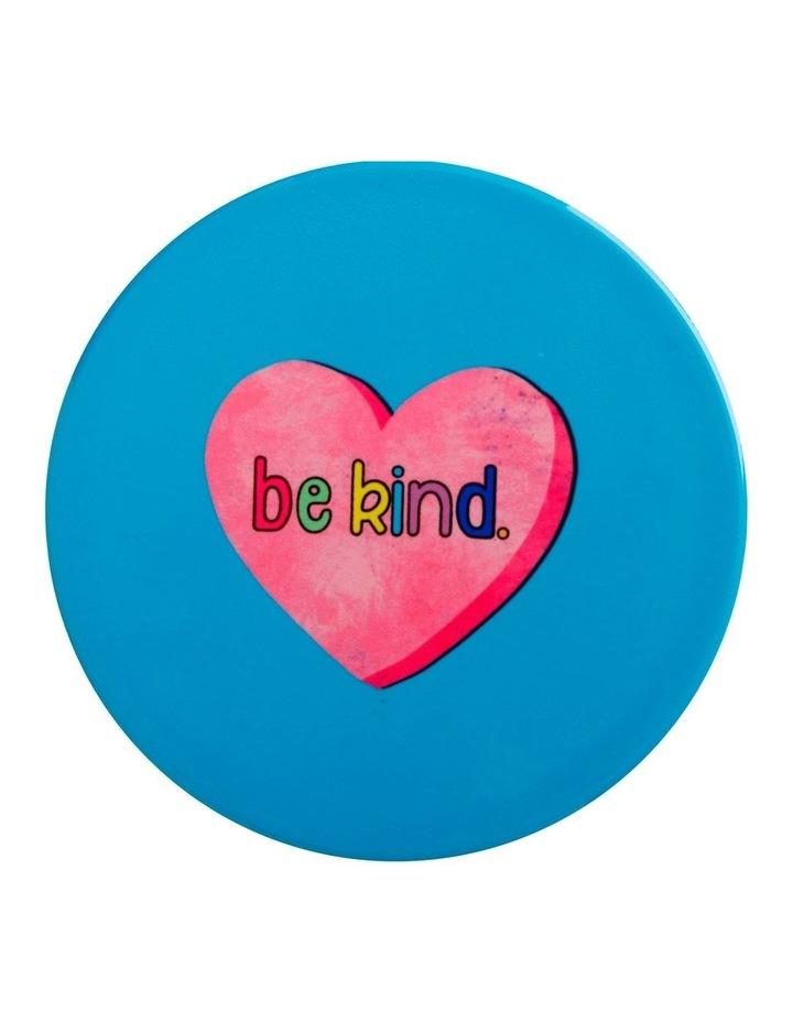 Kasey Rainbow Be Kind Ceramic Coaster 10cm Be Kind image 1