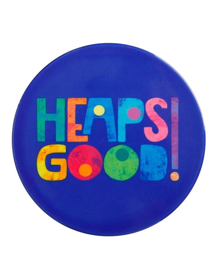 Kasey Rainbow Be Kind Ceramic Coaster 10cm Heaps Good image 1