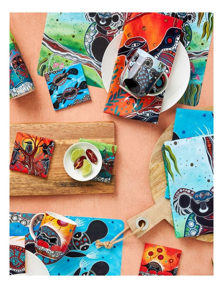 Melanie Hava Journeys Ceramic Coaster 10cm Echidnas image 2