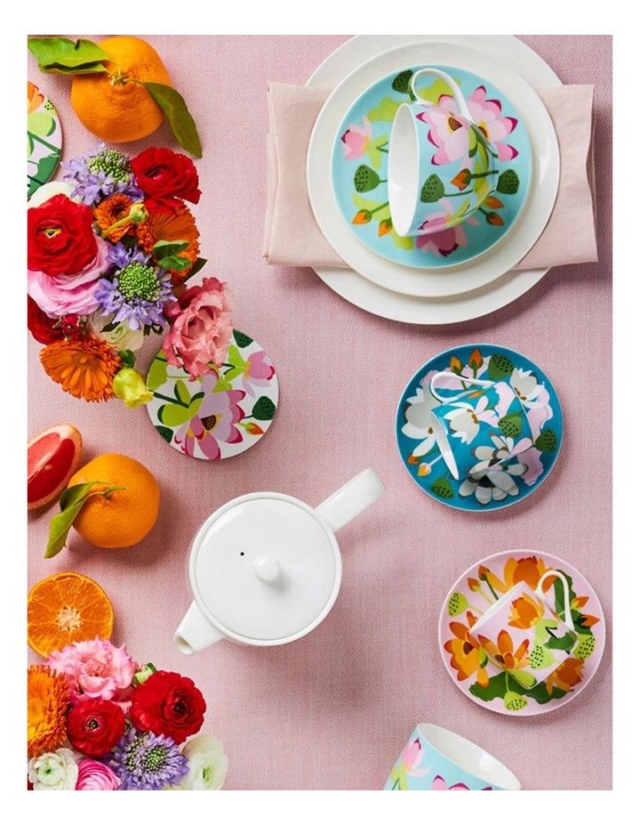 Royal Botanic Gardens Lotus Ceramic Round Coaster 10cm Set Of 4 image 2