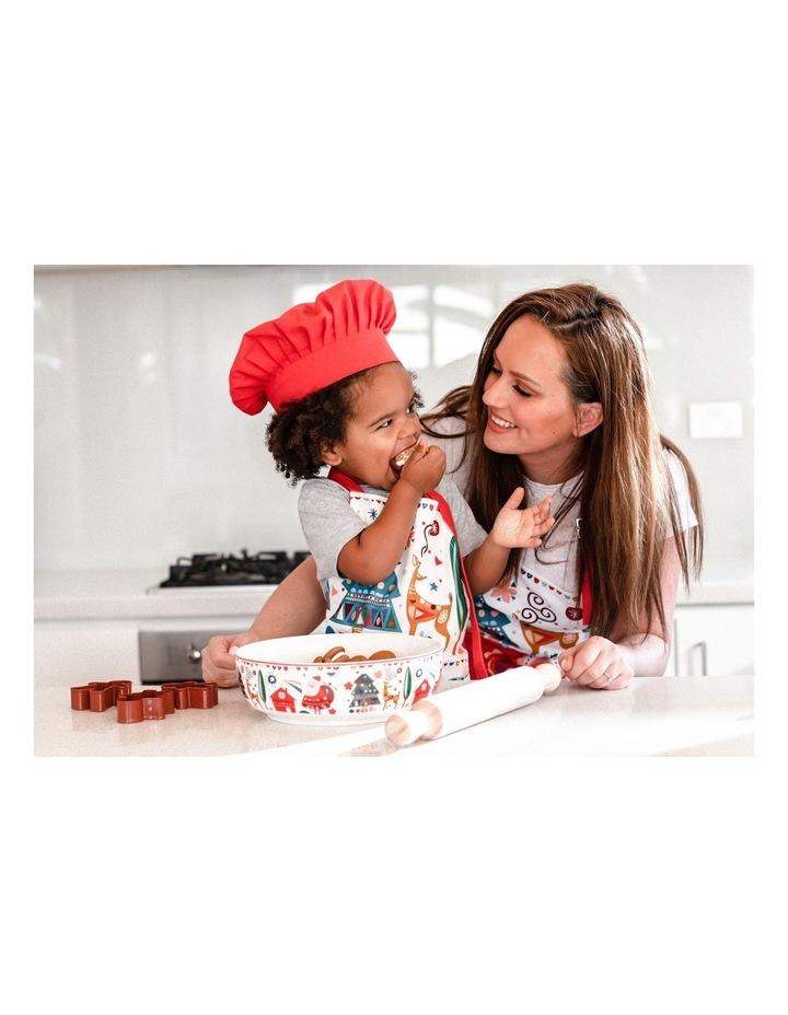 Festive Friends Children's Apron & Chef Hat Set image 2