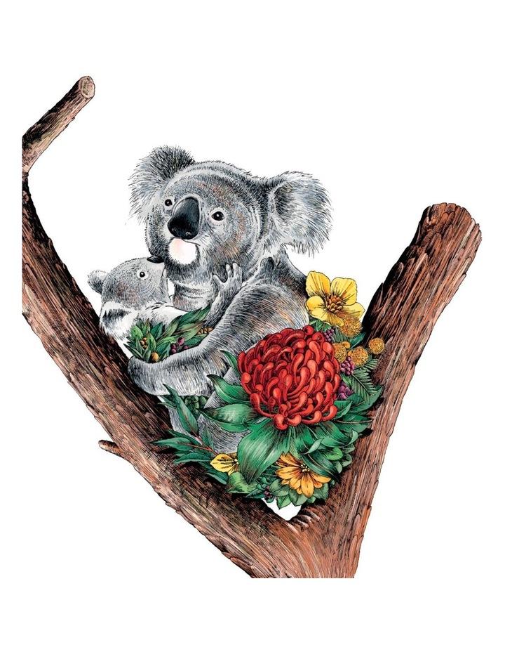 Marini Ferlazzo Australian Families Tea Towel 50x70cm Koala Cuddle image 1