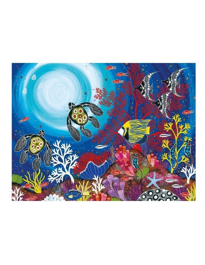 Melanie Hava Jugaig-Bana-Wabu Tea Towel 50x70cm Reef Wonderland image 1