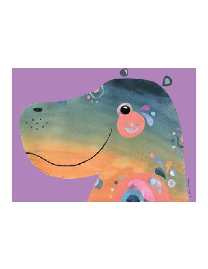 Pete Cromer Wildlife Tea Towel 50x70cm Hippo image 1