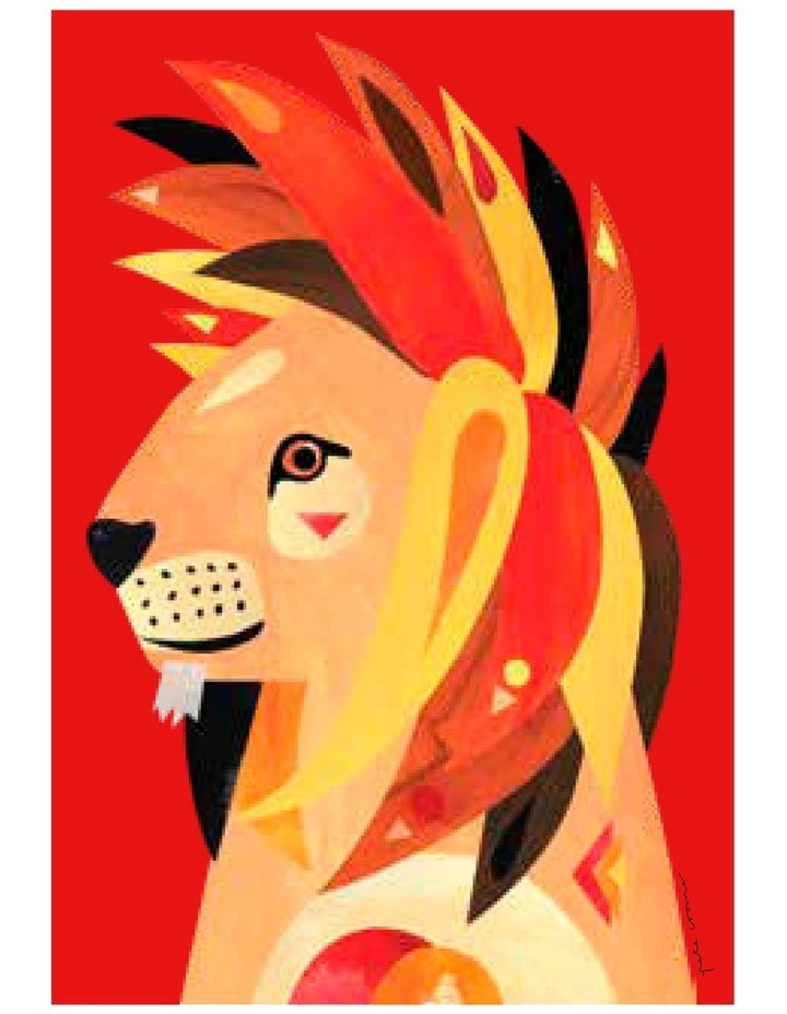 Pete Cromer Wildlife Tea Towel 50x70cm Lion image 1