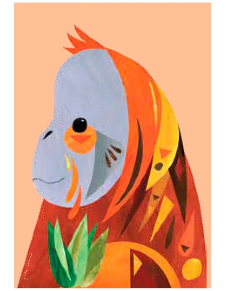 Pete Cromer Wildlife Tea Towel 50x70cm Orangutan image 1