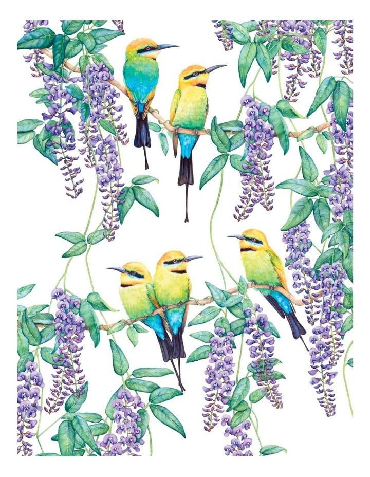 Royal Botanic Gardens Victoria Garden Friends Tea Towel 50x70cm Rainbow Bee-eater image 1