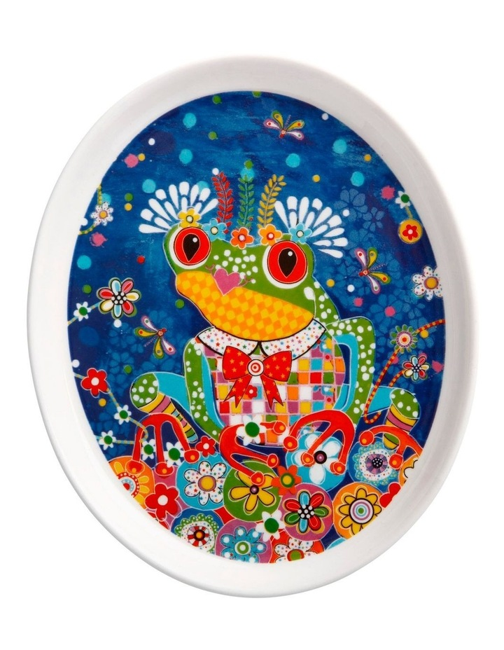 Donna Sharam Rainbow Jungle Plate 16cm Glamour Puss Gift Boxed image 1