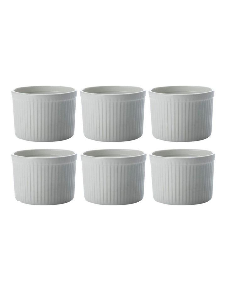 White Basics Ramekin 10x7cm Set of 6 image 1