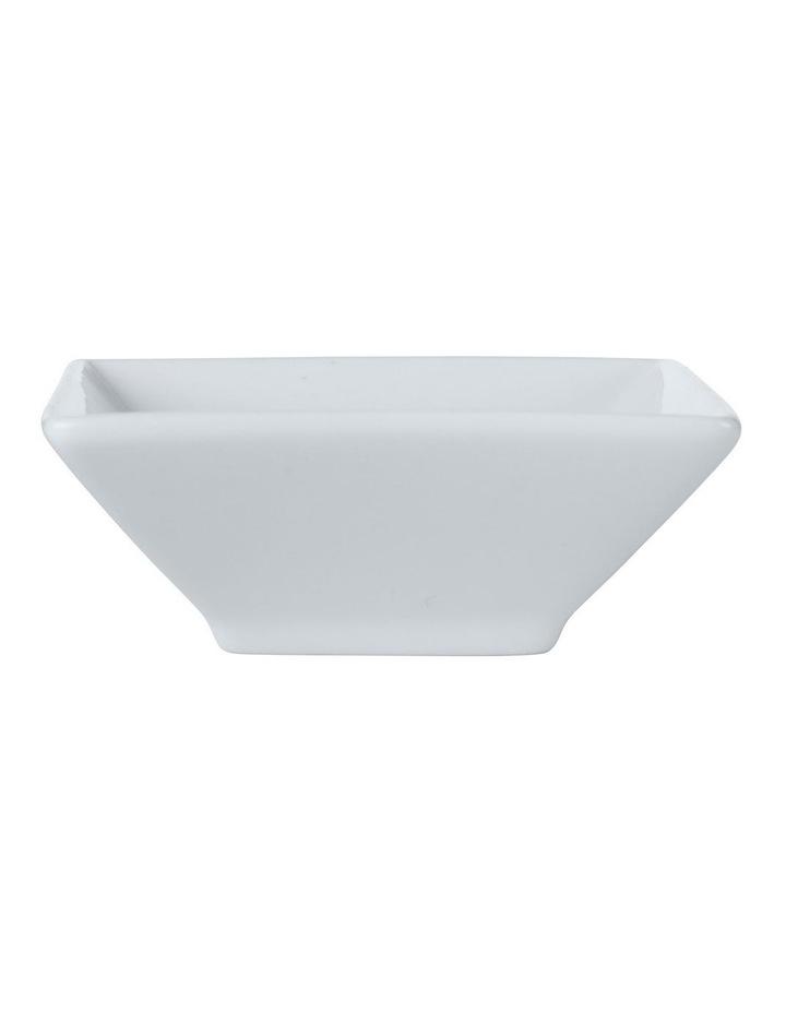 White Basics Square Footed Sauce Dish 7.5cm image 1