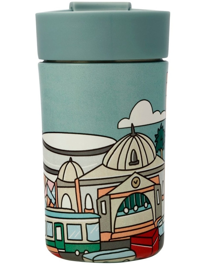 Megan McKean Cities Double Wall Insulated Cup 350ML Melbourne image 2