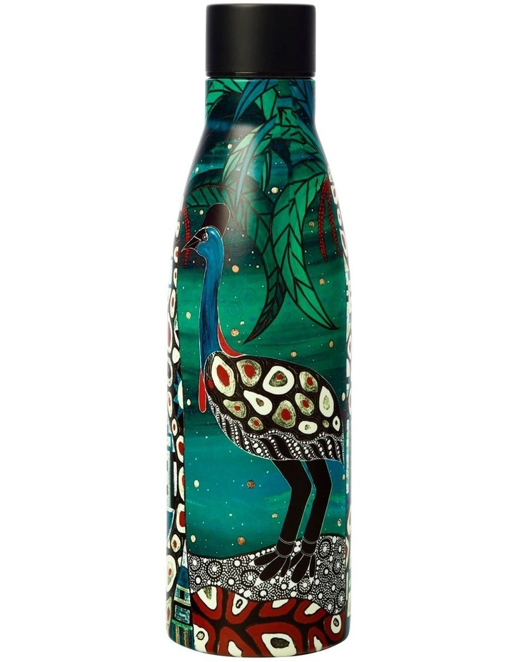 Melanie Hava Jugaig-Bana-Wabu Double Wall Insulated Bottle 500ML Cassowaries Home image 1