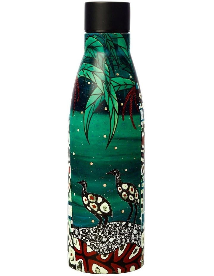 Melanie Hava Jugaig-Bana-Wabu Double Wall Insulated Bottle 500ML Cassowaries Home image 2