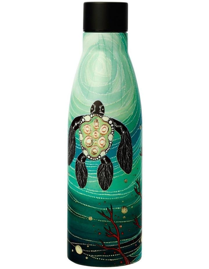 Melanie Hava Jugaig-Bana-Wabu Double Wall Insulated Bottle 500ML Turtles image 1
