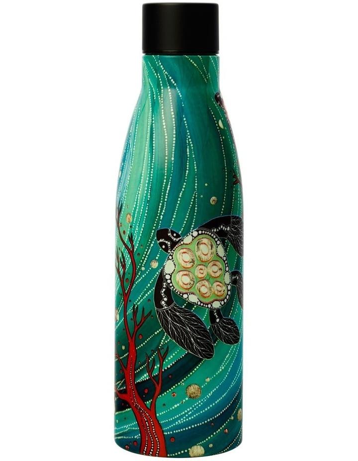 Melanie Hava Jugaig-Bana-Wabu Double Wall Insulated Bottle 500ML Turtles image 2