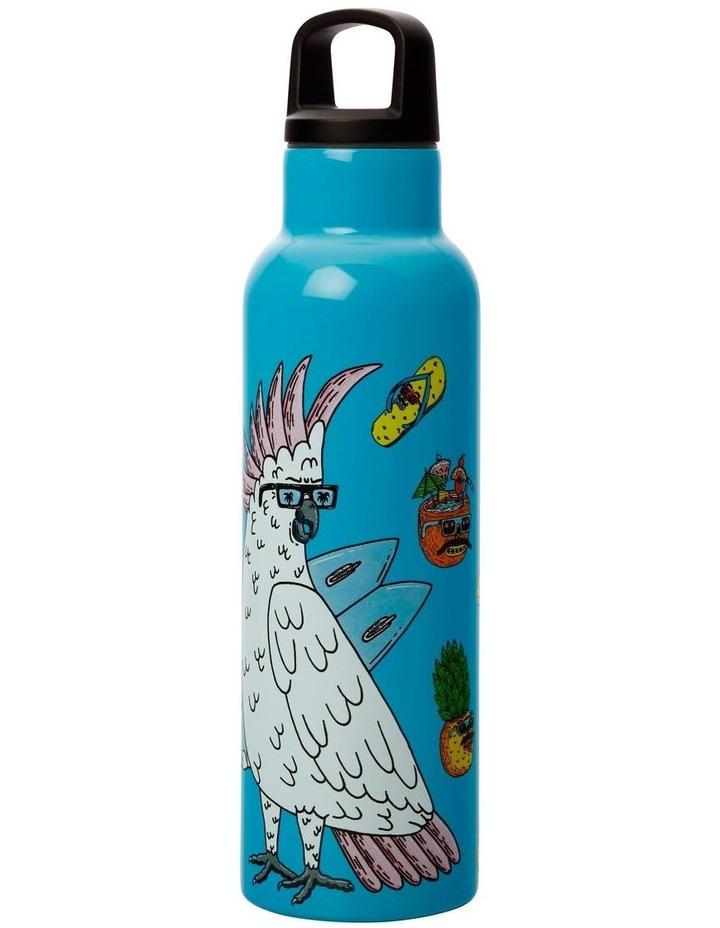 Mulga the Artist Double Wall Insulated Bottle 600ML Cockatoo image 2
