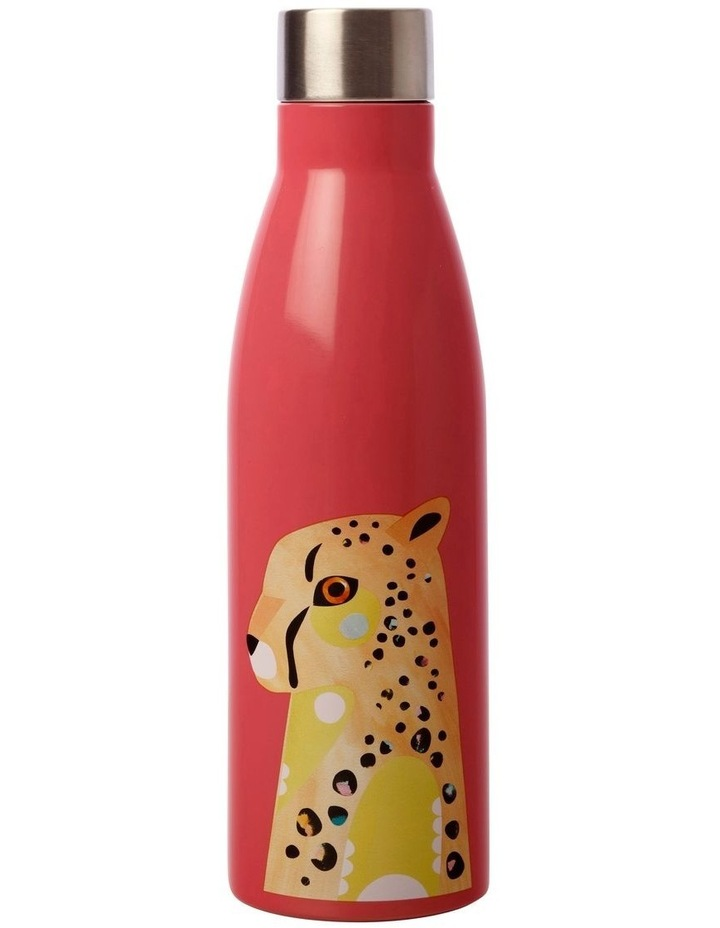 Pete Cromer Wildlife Double Wall Insulated Bottle 500ML Cheetah image 1
