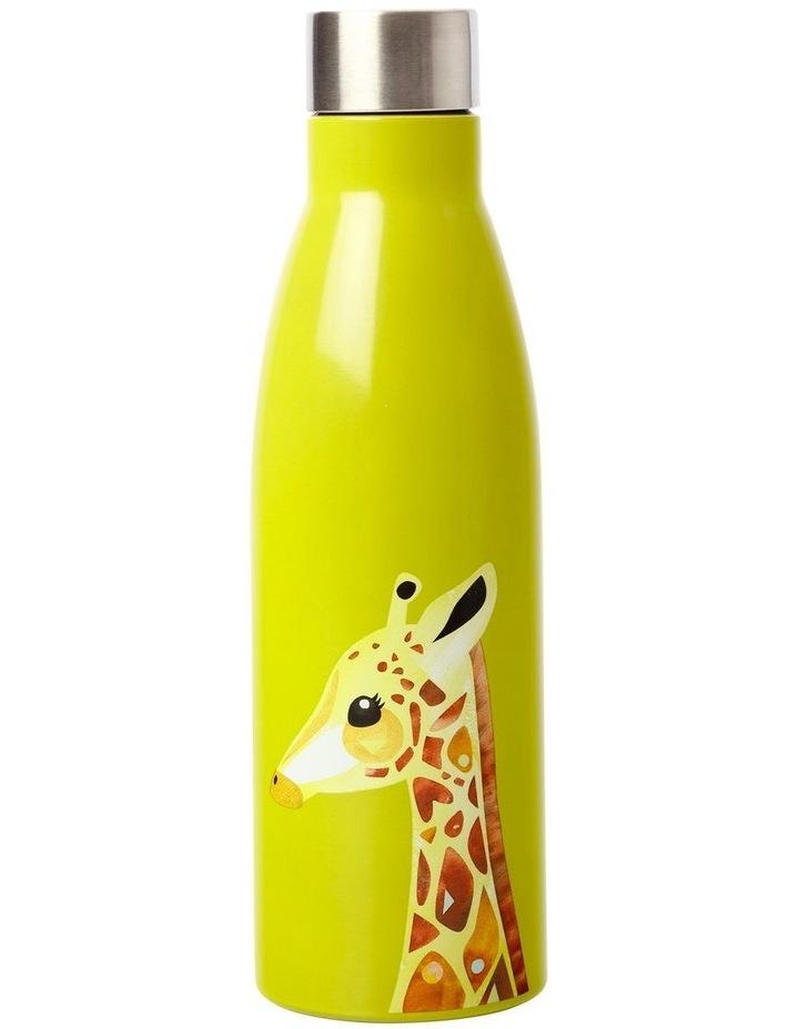 Pete Cromer Wildlife Double Wall Insulated Bottle 500ML Giraffe image 1