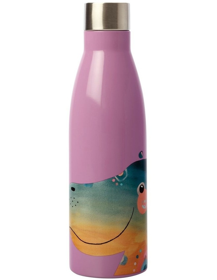 Pete Cromer Wildlife Double Wall Insulated Bottle 500ML Hippo image 2