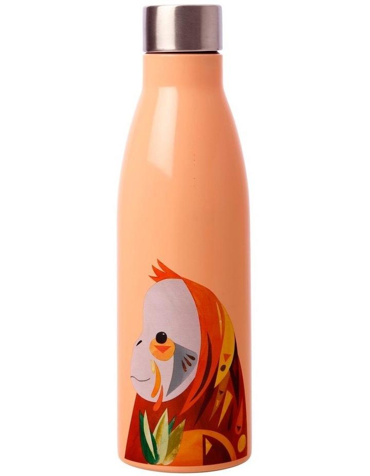 Pete Cromer Wildlife Double Wall Insulated Bottle 500ML Orangutan image 1