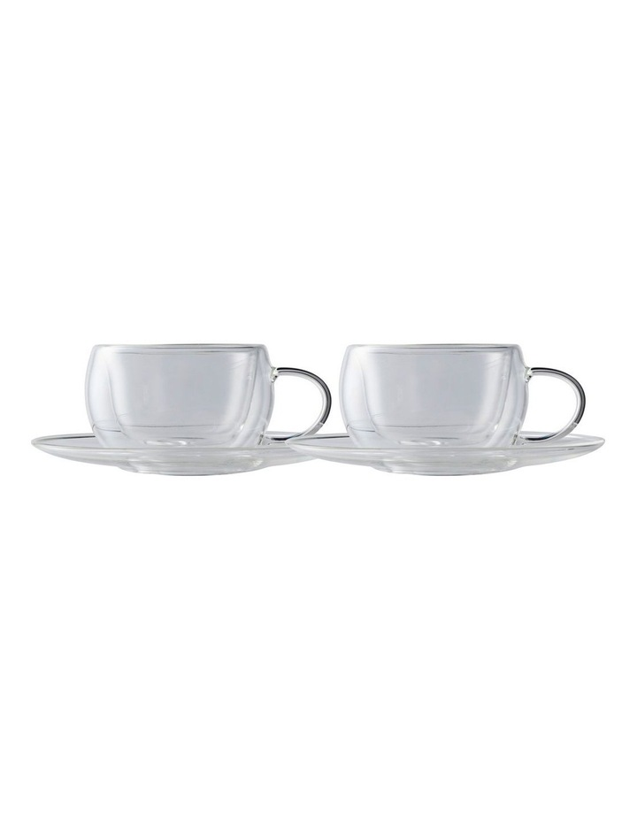 Blend Double Wall 80ml 2pc Gift Boxed Cup & Saucer Set image 1