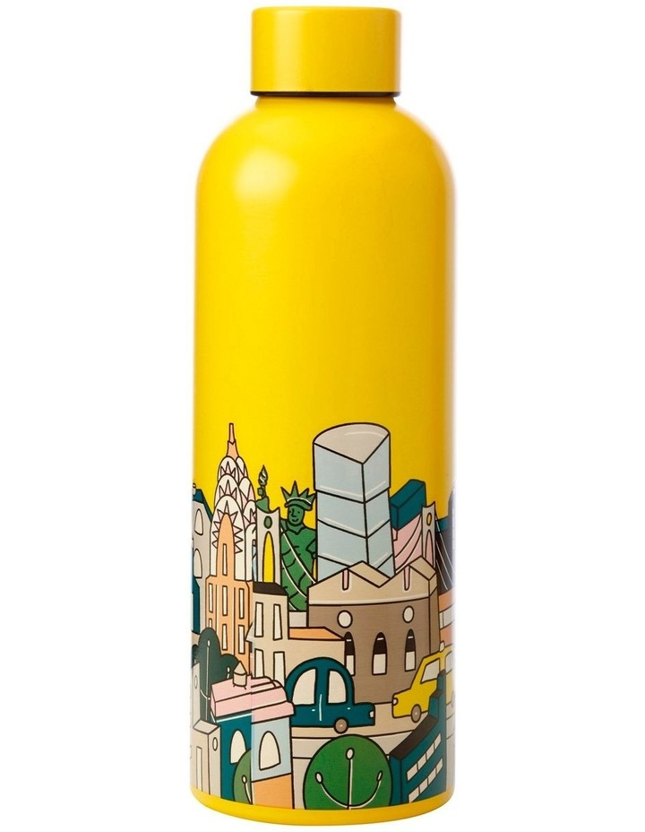 Megan McKean Cities Double Wall Insulated Bottle 500ML New York image 1