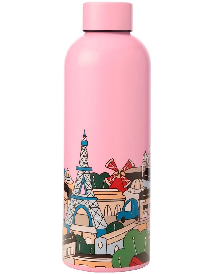 Megan McKean Cities Double Wall Insulated Bottle 500ML Paris image 1