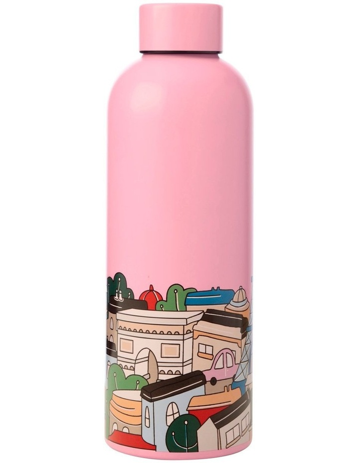 Megan McKean Cities Double Wall Insulated Bottle 500ML Paris image 2