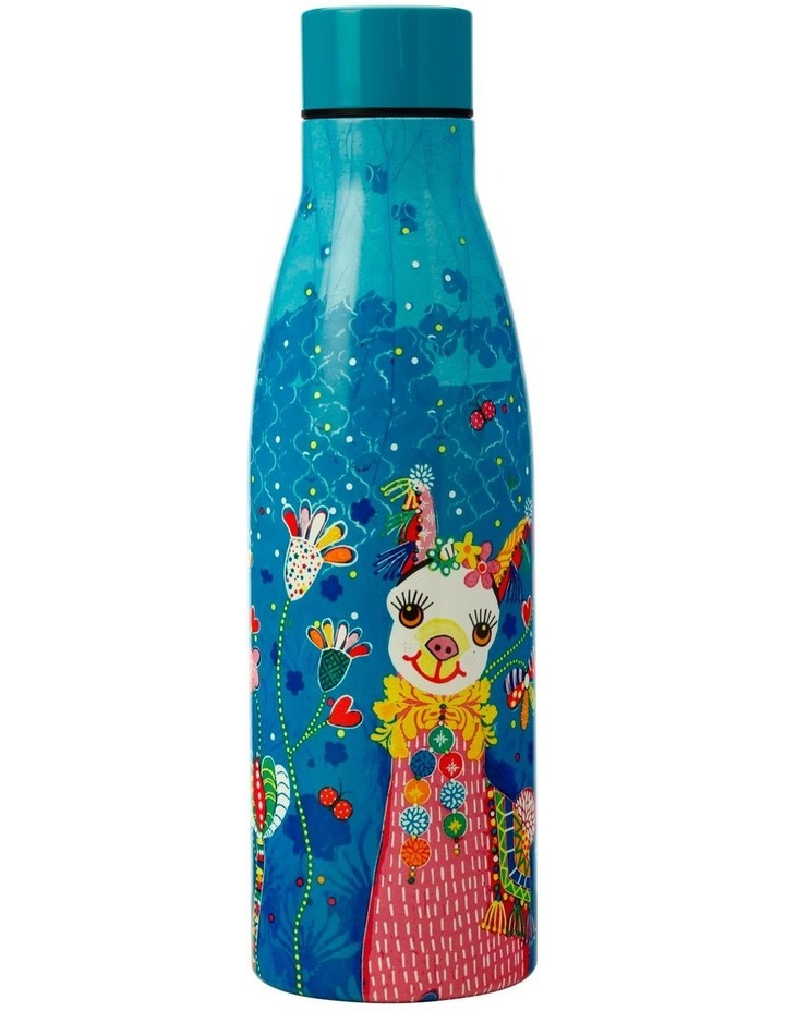 Donna Sharam Rainbow Jungle Double Wall Insulated Bottle 500ML Lively & Lovely image 1